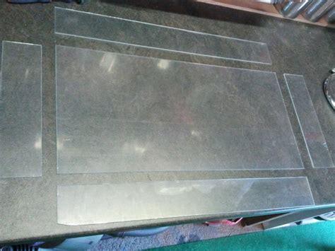 fabriquer aquarium en plexiglas fabrication maison d un nouveau couvercle pour mon 60l
