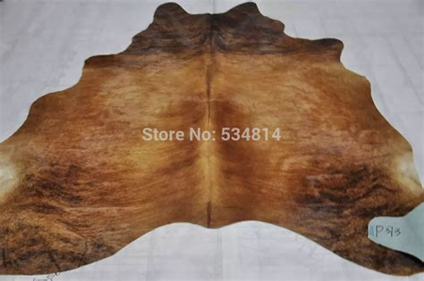 Free Shipping Tiger Stripers Cow Hide Rugs And Carpets