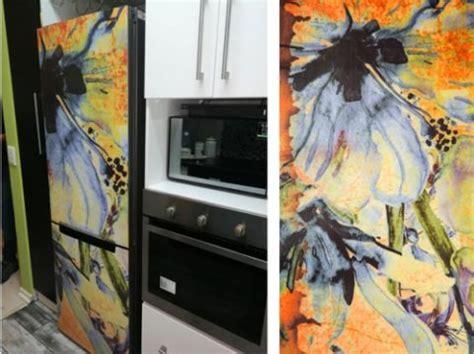 floral fridge watercolour eye candy decor