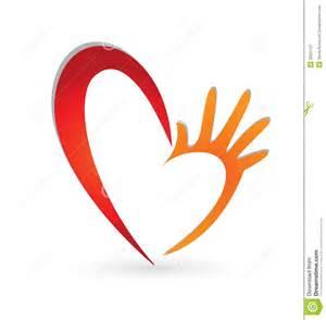 Hand Heart Logo