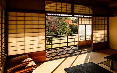 Japan Background Desktop Villa Elegant Japanese Simple