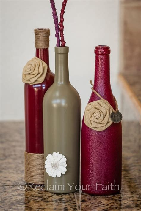 Decorate Wine Bottles - 40 diy wine bottle projects and ideas you should