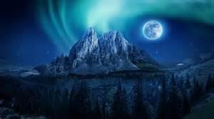 Desktop Wallpapers Hd by Mountain Moon Nightscape 4k Wallpapers Hd Wallpapers