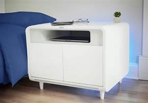 Wohnzimmertisch Mit Kühlschrank : sobro smart side table nun wird auch der nachttisch smart ~ Whattoseeinmadrid.com Haus und Dekorationen