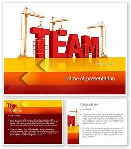 team building powerpoint presentation templates - team building under construction powerpoint template http