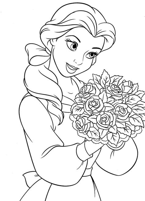 Developers tattoo: disney princesses coloring pages belle