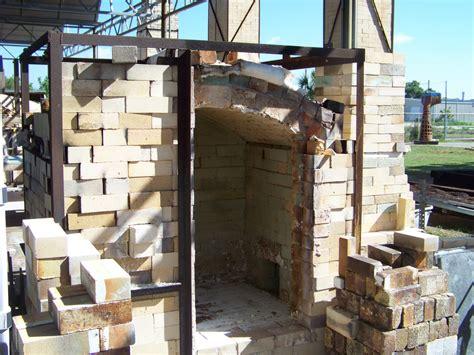 cmu  kiln construction jake allee cross draft soda kilns