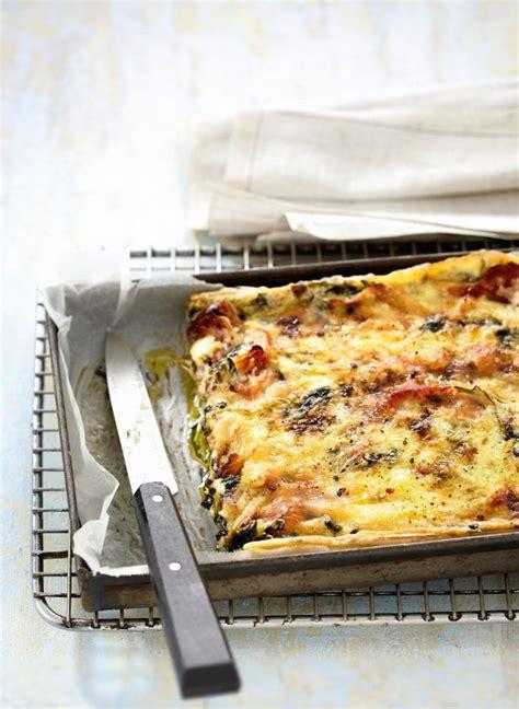 cuisiner le cresson recette tarte au jambon et au cresson