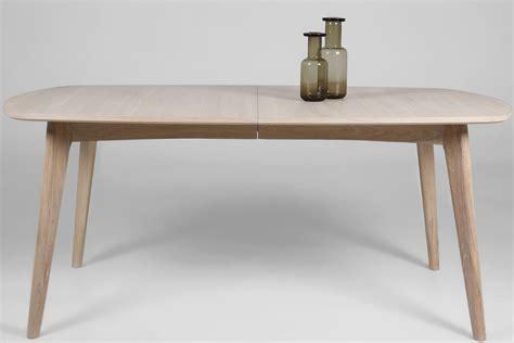 bureau professionel table repas en chêne massif avec rallonge 180 270cm mykaz