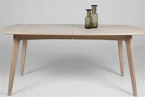 Table Bois Avec Rallonge : table en bois blanc avec rallonge table ronde design avec ~ Teatrodelosmanantiales.com Idées de Décoration