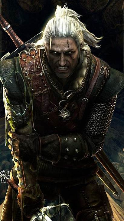 Geralt Enhanced Witcher Edition Iphone Mobile