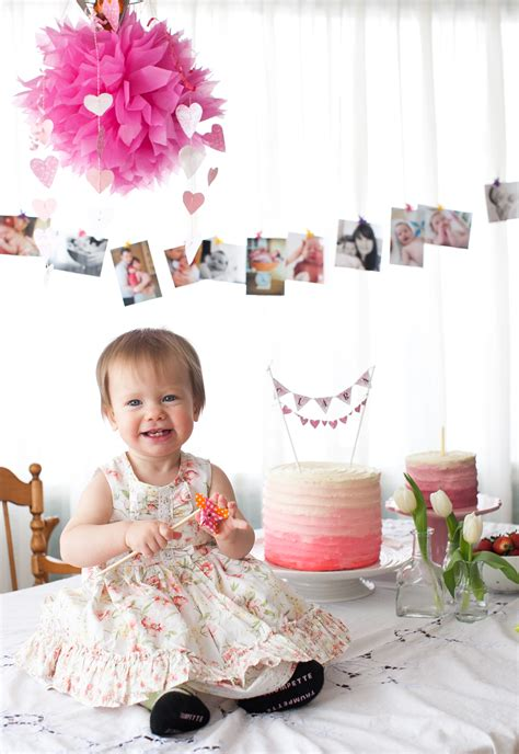 First Birthday Party Ideas {recipe Apple Spice Cake With