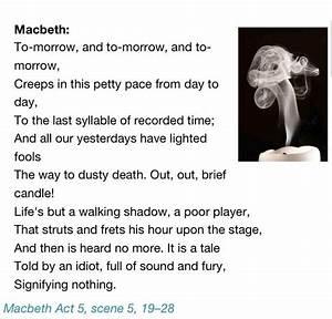 William Shakesp... Macbeth Scene Quotes