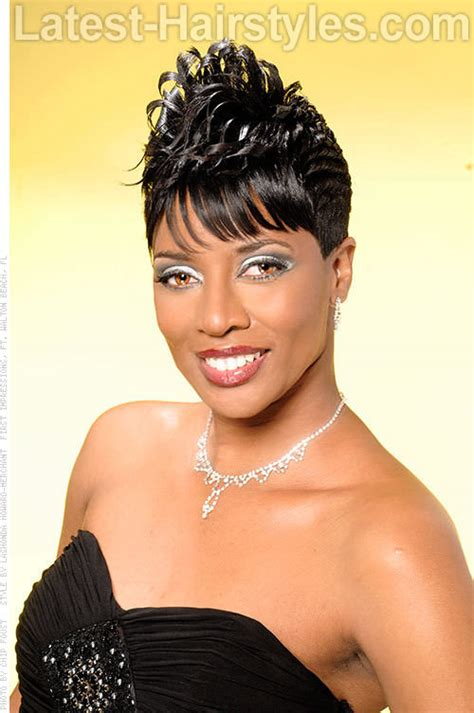 Short Hairstyles: Images of Short Black Hairstyles Gallery