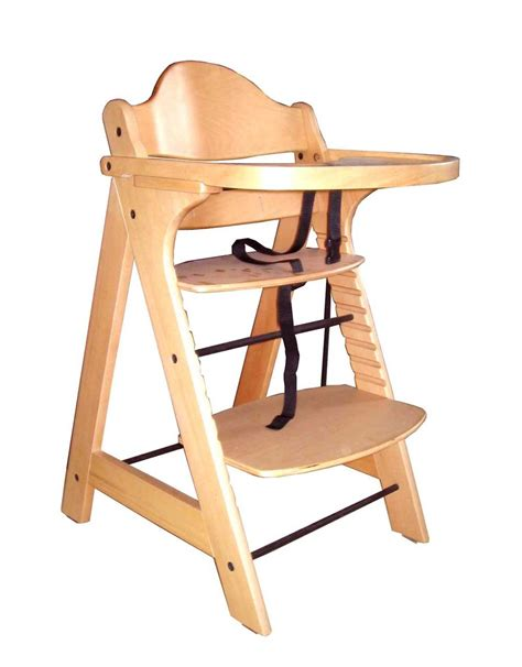Wh 5032i Wooden Baby High Chair With Tray