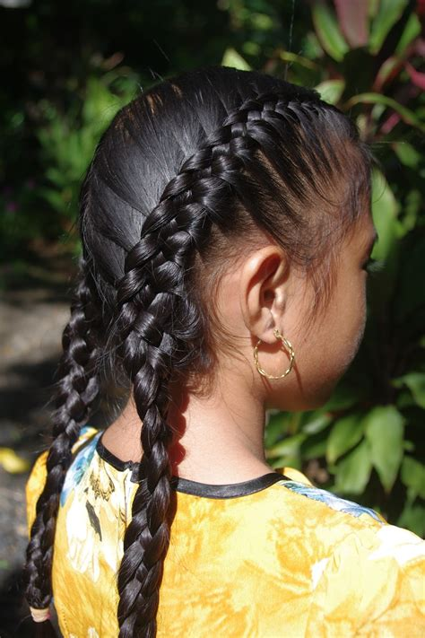 braids hairstyles  super long hair july