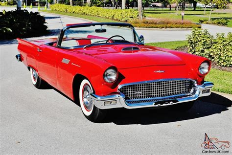 1957 Ford Thunderbird Convertible With Hard And Soft Top