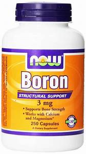 Boron Citrate Supplement  Vital Trace Mineral That Benefits Testosterone