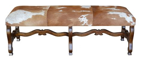 Cowhide Bench Ottoman by Cowhide Bench Proffitt