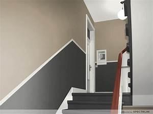 Holztreppe Streichen Welche Farbe : flur streichen welche farbe fesselnde on moderne deko idee ~ Michelbontemps.com Haus und Dekorationen