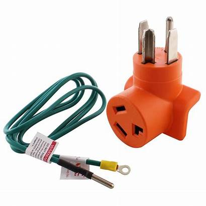 Prong Outlet Adapter Dryer Amp Plug Wall