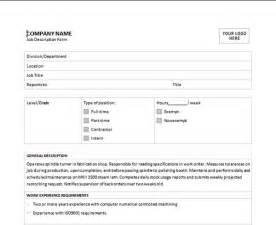 Free Job Description Template