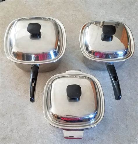 maid  honor copper core sears stainless steel square pan set lids cookware sets ideas