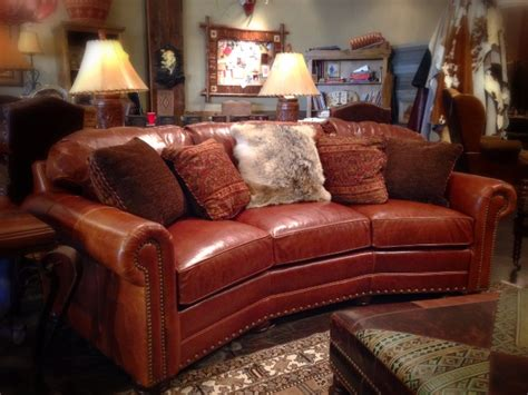 Rustic Leather Loveseat by Rustic Leather Sofa Rustic Sofa Dallas Western Sofa