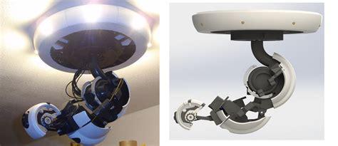 print portals glados   robotic lamp dprintcom  voice   printing additive