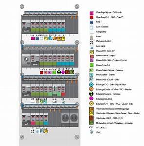 Tableau Electrique 4 Rangées : tableau electrique 4 rangees maison travaux ~ Dailycaller-alerts.com Idées de Décoration