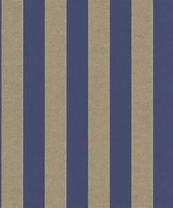 rasch tapete streifen blau die neuesten With markise balkon mit tapete blau gold