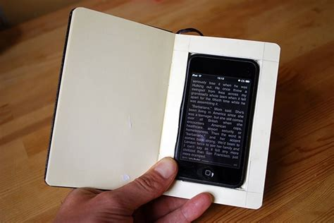 iphone book how to turn an iphone into a moleskine book wired
