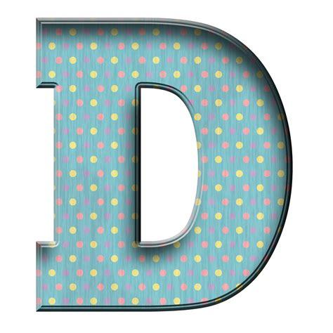 letter d enchanted s free blue polka digi scrapbook alphabet