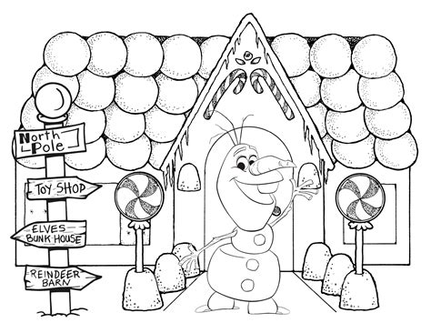 olaf coloring pages getcoloringpagescom