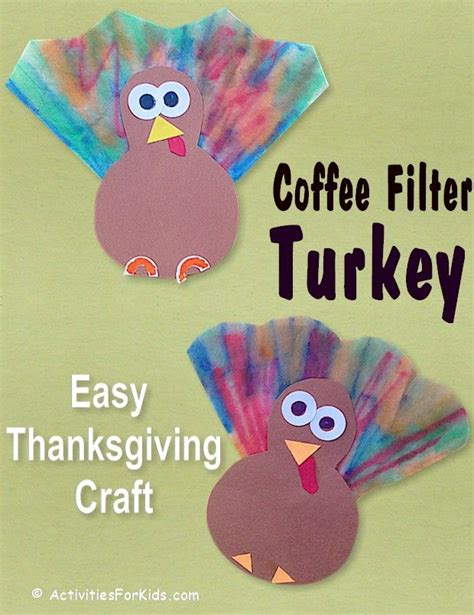 mini turkey craft preschool thanksgiving craft 228 | b7830af54fee44e7230835ca0927b916
