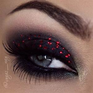Christmas Lights Inspired eye makeup ️ ..using a variety ...