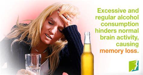 alcohol  memory loss