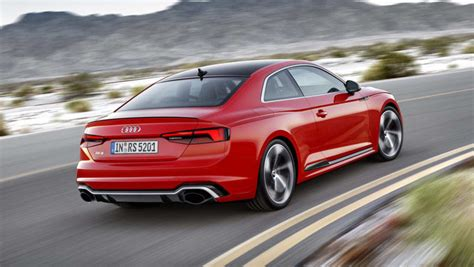 audi rs5 2017 preis 2017 audi rs5 revealed with torquey turbo v6 car news carsguide