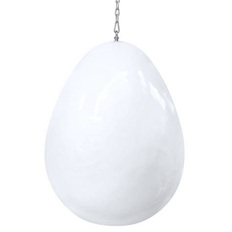 egg hanging chair white modern in designs