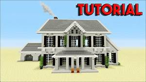 Minecraft Tutorial  How To Build A Suburban House