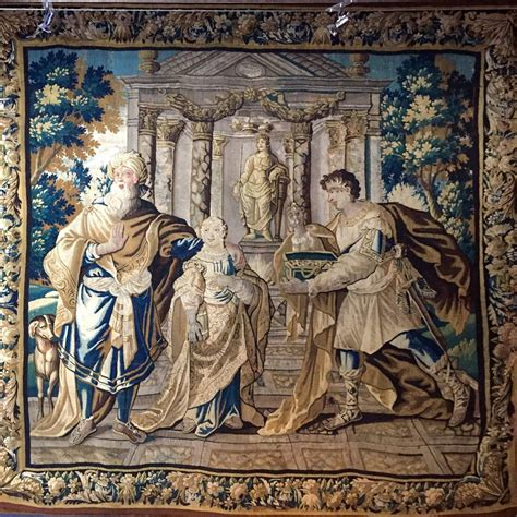 Tapisserie Or by Tapisserie D Aubusson Xviie Si 232 Cle N 51225