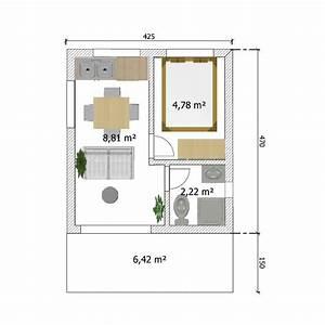 maison jardin habitable abri bureau accueil design et With plan extension maison 40m2