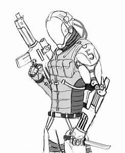 sci-fi soldier by DarkMatteria on DeviantArt