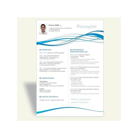 Forme De Cv Word by Exemple Cv Professionnel Word Cv Modele Gratuit Original