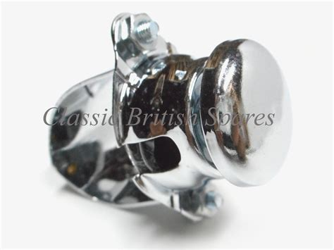 Lucas Type Chrome Horn Kill Button 76204 7/8
