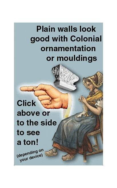 Moldings Colonial Ornament