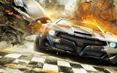 car explosion hd wallpaper hd games wallpapers