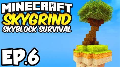 minecraft skygrind skyblock survival ep chicken