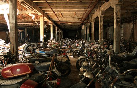 Motorcycle Graveyard These P Os Are Part Of A Gallery