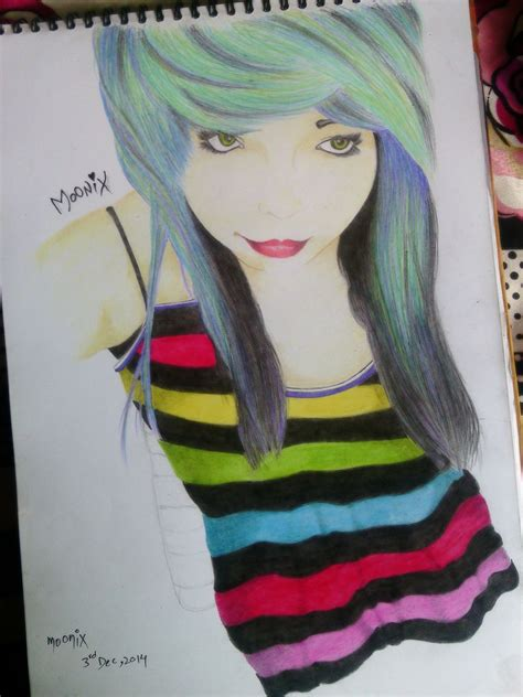 Best Emo Drawings Ideas And Images On Bing Find What You Ll Love